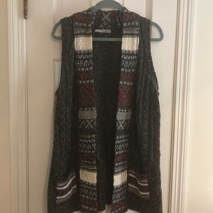 Marurices tunic vest sweater size 1
